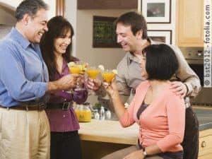 Baby-Boomer werden 50 und der Party- & Cateringservice gibt einen aus
