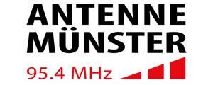 Internetauftritt von Antenne-Münster