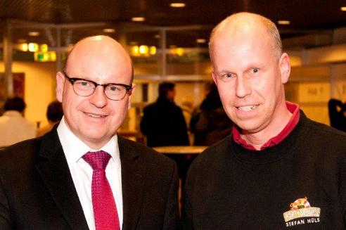Oberbürgermeister Markus Lewe - Stefan Hüls - Cateringservice Münster